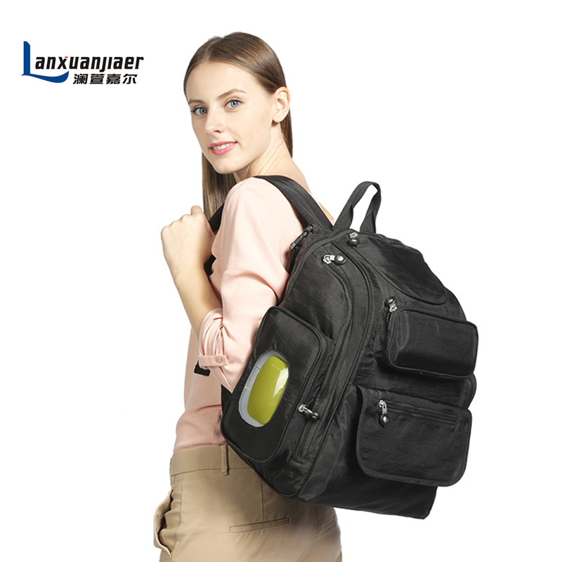 Backpack nappy bag baby diaper bags mommy maternity bag Large capacity multifunctional mummy babies care product free ship