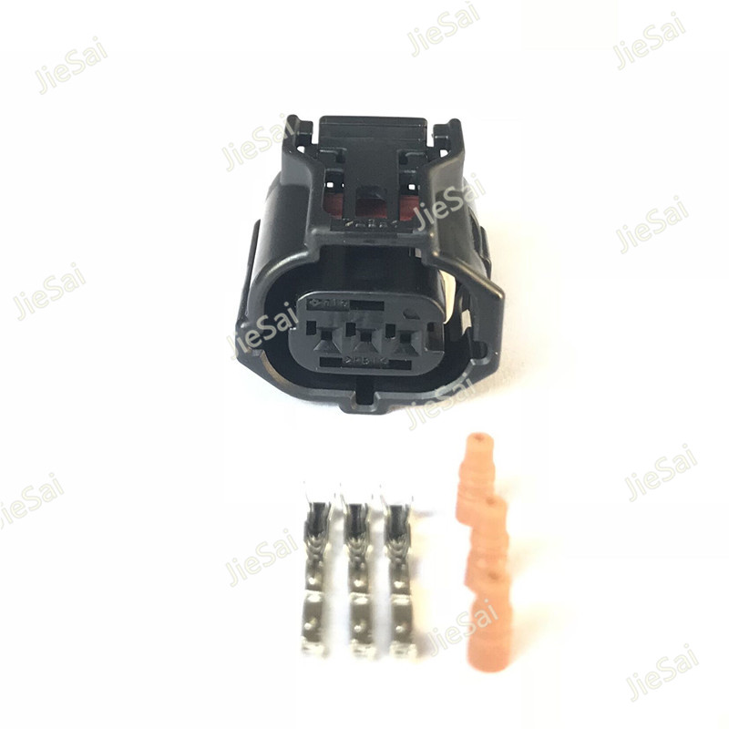 3 Pin Sumitomo 6189-1129 Female Automotive Headlight Lamp Camshaft Sensor Plug Wire Connector For Toyota цены