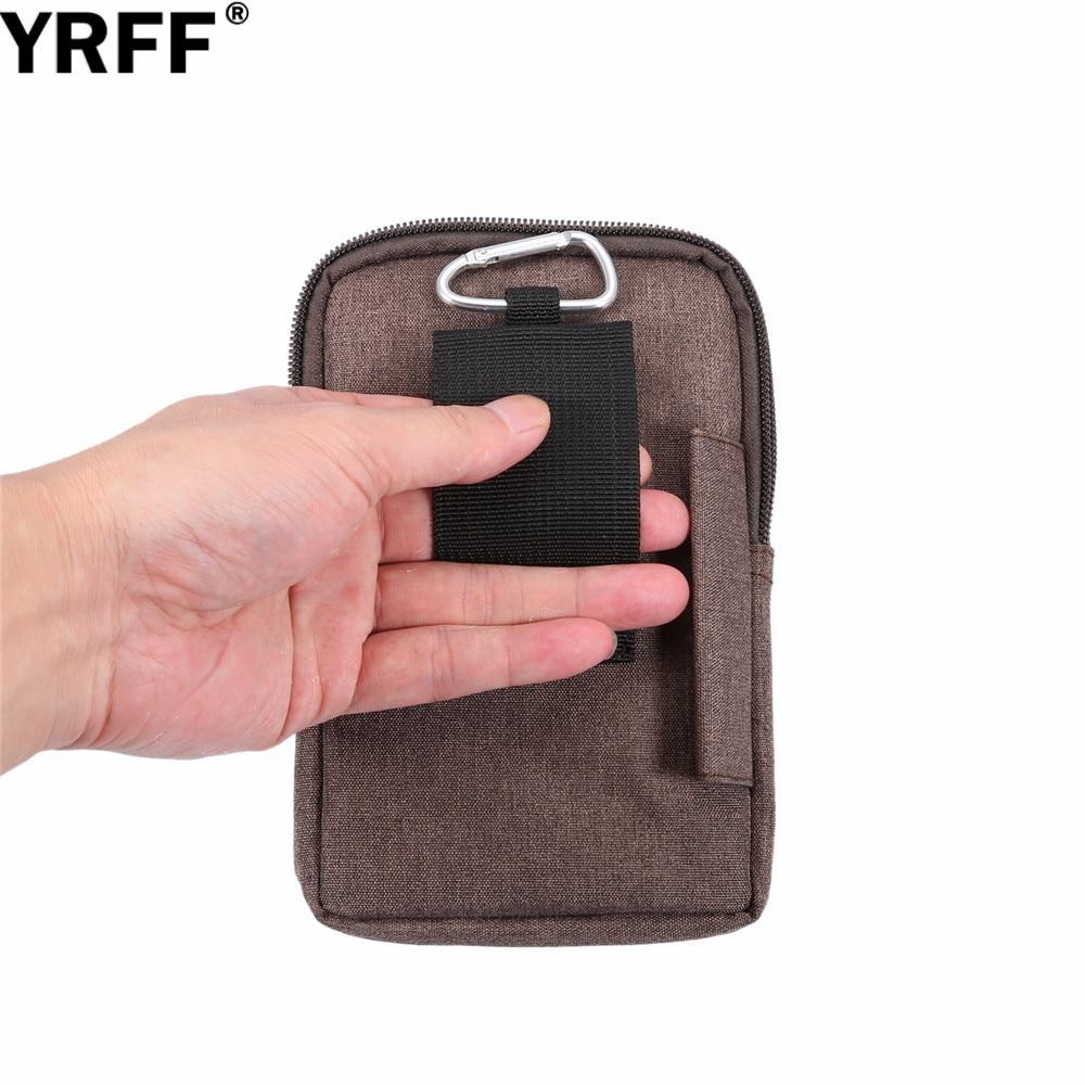 YRFF Koboi Kain Tas Telepon untuk Samsung J5 J7 J3 Untuk huawei p8 - Aksesori dan suku cadang ponsel - Foto 5