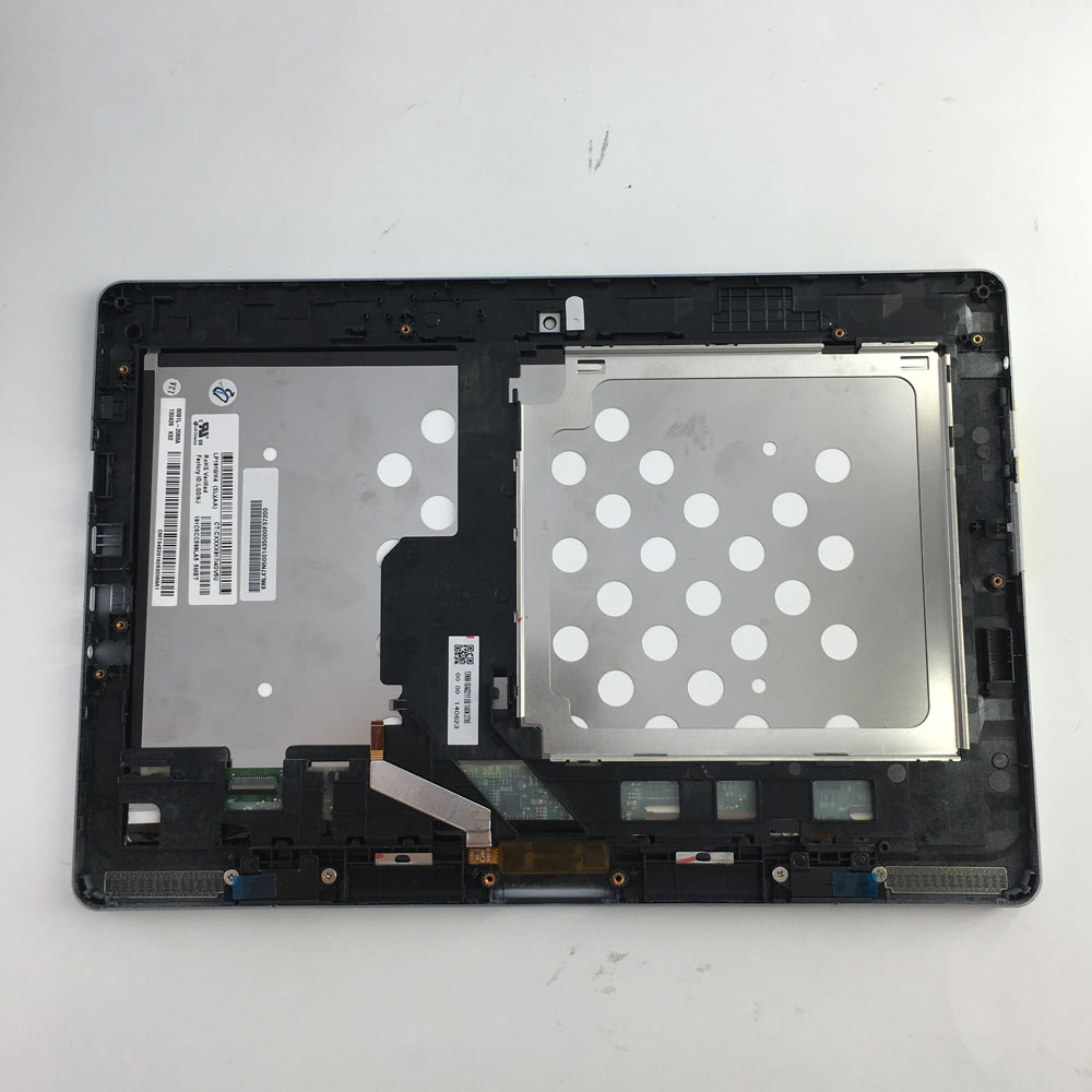 1366*768 LCD Panneau D'affichage de Moniteur à Écran Tactile Assemblée D'écran avec cadre Pour Acer Aspire Commutateur 10 SW5-011 LP101WH4 (SL) (AA)