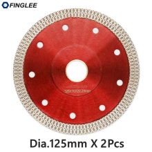 2pcs 125mm Wave Style Diamond Saw Blade for Porcelain tile ceramic Dry cutting aggressive disc marble granite Stone saw blade цены