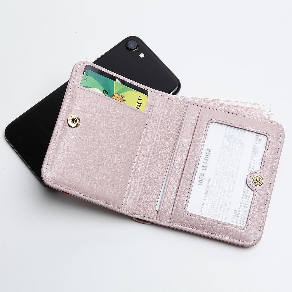 EMMA YAO  original leather wallet female famous brand designer women