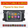 Free Shipping Touch Capacitive Screen Car DVD For Benz Smart Fortwo 2011 2012 2013 2014 Radio