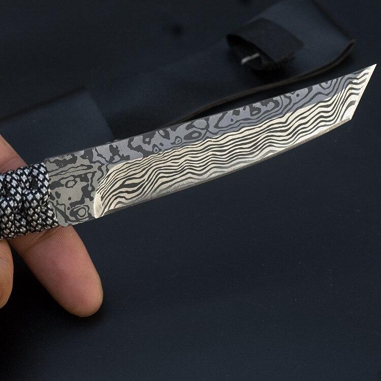 8281836272_436961213  Mengoing Mounted Blade Knife Tanto Tenting Survival 5Cr13 Full Stainless Metal 58HRC Hardness Pocket Karambit Knife Sheath HTB14qqdneuSBuNjy1Xcq6AYjFXas
