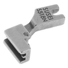 Presser Sewing-Machine Walking-Foot Zipper Industrial for New Silver 1pcs