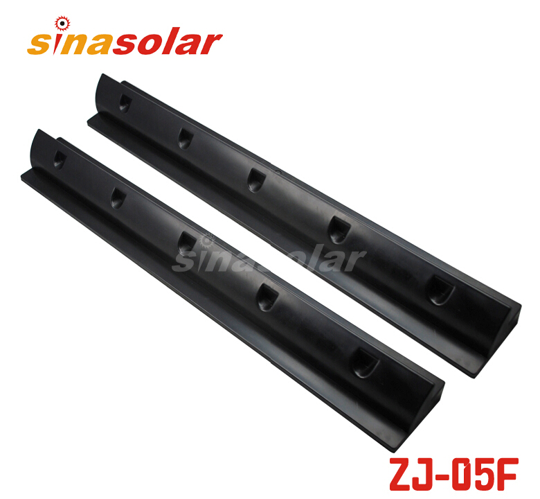 Black ABS 680mm Side Solar Panel Mounting Bracket Spolier For Caravan Motorhome RV 100w folding solar panel solar battery charger for car boat caravan golf cart