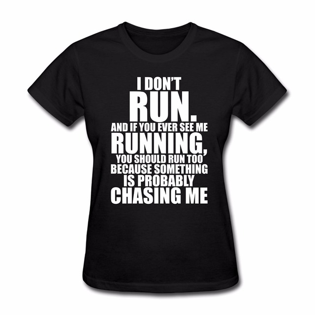 acf6f3ac Women T Shirt 2019 Summer Fashion O Neck Hip Hop Short Sleeve T-Shirt  Runner Funny Quote New Arrival Summer Style