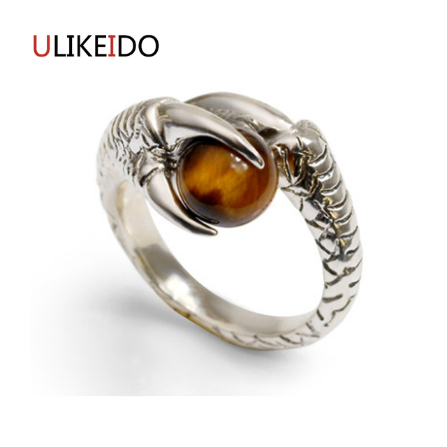 jewelry on rings tiger tigers jaipur eye stone wanelo ring shop natural silver vintage