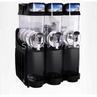 Maszyna do topienia śniegu komercyjne 3 cylindra TKX 03 maszyna do napojów slushy śnieg błoto ekspres do maszyna do napojów zimny napój urządzenie do 45L 220V w Roboty kuchenne od AGD na