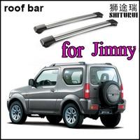 SHITURUI cross bar/roof rail/roof bar for Suzuki Jimny 1998 2018 sierra slap up aluminum alloy,old seller,quality guarantee