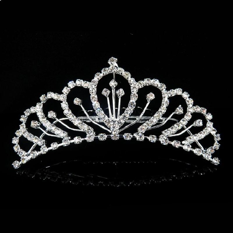 HTB14qr_MVXXXXafXFXXq6xXFXXXq Majestic Prom Pageant Wedding Bride Bridesmaid Jewelry Comb Tiara - 13 Styles