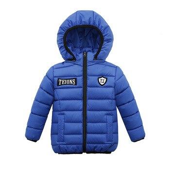 Casaco de inverno Quente Criança Crianças Outerwear Roupa Dos Miúdos Das Meninas Dos Meninos Do Bebê À Prova de Vento Jaquetas Para 1-4 Anos de Idade