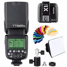 Godox TT685S 2.4G HSS 1/8000s TTL GN60 Wireless Speedlite Flash for Sony A7 A7R A7S A7 II A7R II A7S II A6300 A6000 DSRL Camera neewer 2 4g wireless 1 8000s hss ttl master slave flash speedlite kit for sony a7 a7r a7s a7ii a7rii a7sii a6000 a6300 cameras