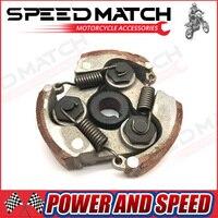 3 SHOE CLUTCH SPRINGS KEYWAY For 33cc 43cc 47cc 49cc 50cc 2 Stroke Mini Moto Dirt