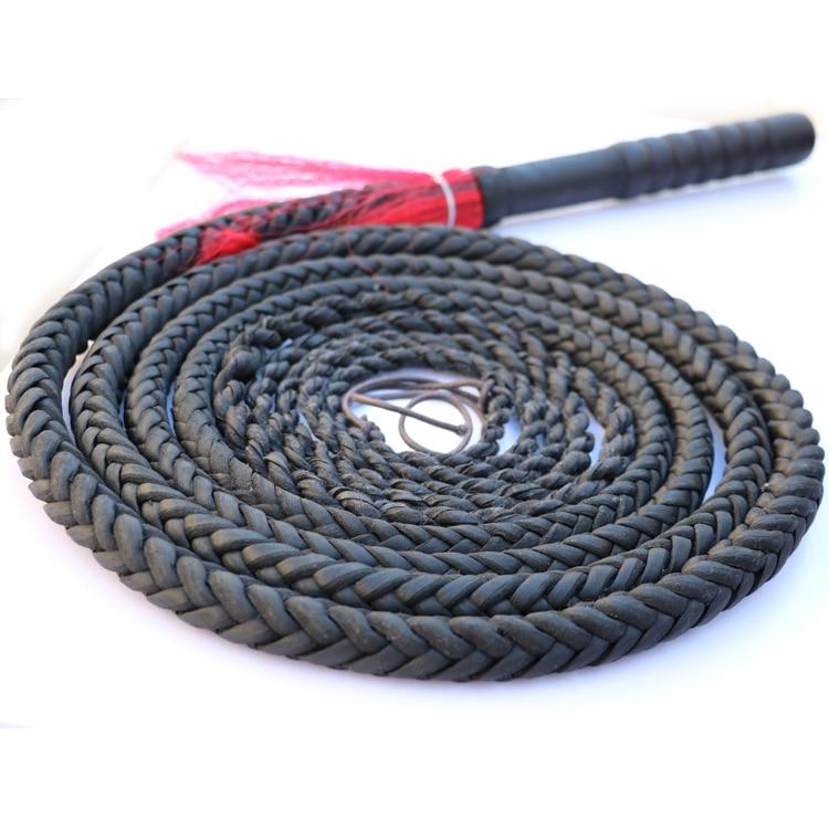 Bullskin Whip, Wushu Shepherd  Soft Long Kungfu Martial Art Whip