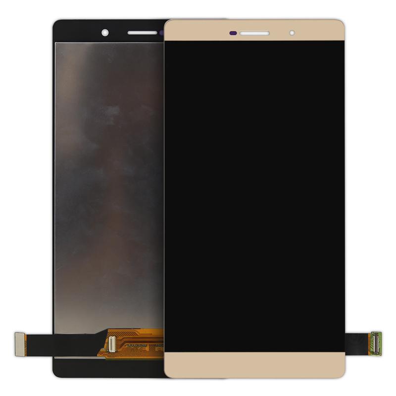 Prix pour 1 pcs gratuite Pour HUAWEI P8 MAX LCD Écran avec Écran Tactile MEILLEURE qualité or blanc Digitizer Assemblée Remplacement