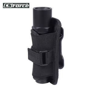 Flashlight Holster Belt-Holder Rotatable-Clip Carry-Case Molle-System Duty for with 360-Degree