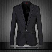 где купить New 2019 Masculine Blazer Mens Suit Jacket Coat Slim Fit Male Formal Casual Blaser Men For Prom Wedding Big Size 5XL 6XL #9836 по лучшей цене