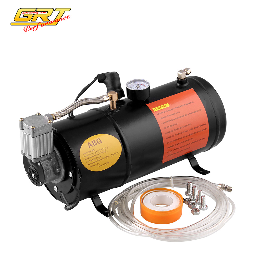 Back To Search Resultsautomobiles & Motorcycles Spirited 12v Air Compressor With 3 Liter Tank For Air Horn Train Truck Rv Pickup 125 Psi Ot200-bk