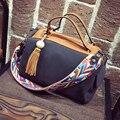 Bailar handsbags Itália designer de luxo das mulheres da moda marcas famosas boston sacos de ombro mensageiro saco de borla alta qualidade