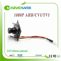 2MP 1080P Full HD CCTV AHD-H AHD Camera Modules Board with IRCUT and Lens 2400TVL Resolution Upgrade CCD / CMOS Camera camara