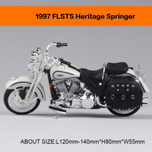 Motorcycle Models 1997 FLSTS HERITAGE SPRINGER 2001 SPRINGER SOFTAIL 1:18 scale Alloy Heavy motorcycle model motorcycle model