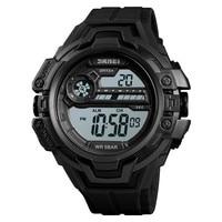 Watch Men Digital Outdoor Sports LED Display Sports Military Hour Chronograph Fashion Retro Wristwatch Relogio Mascu BAMOER