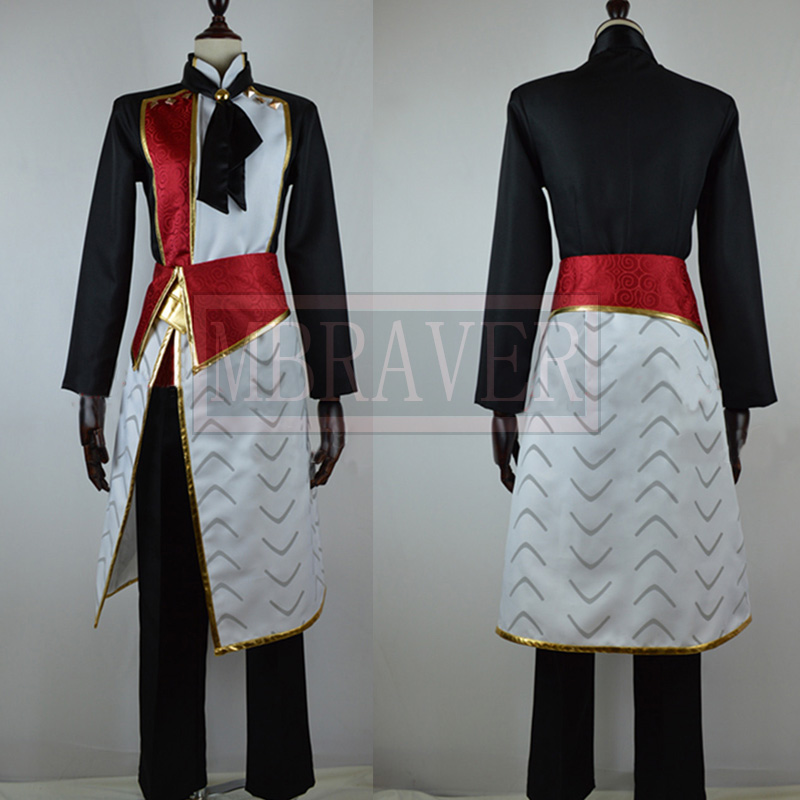 Customized costume Anime Amnesia shin kent Costume Cosplay in any size