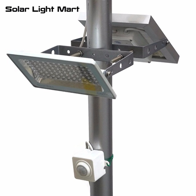Guardian 580x Easy Install Waterproof Outdoor Solar Ed Motion Sensor Pir Led Pole Light Lithium Battery