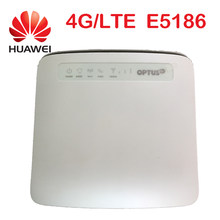 unlocked cat6 300Mbps Huawei e5186 E5186s-22 4g LTE wireless router 4g wifi dongle Mobile hotspot 4g 3g cpe car(China)