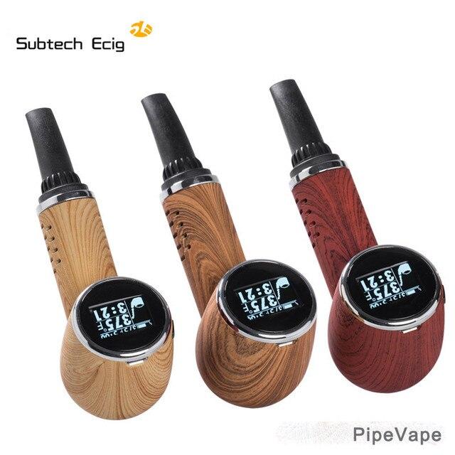 Dry herb vaporizer Pipe Vape kit e cigarettes vape pen dry herb Tempreture control LED screen tobacco built-in 1000mah battery