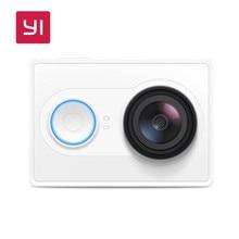 YI 1080 P Action Kamera Weiß 16.0MP 155 grad Ultra-Weitwinkelobjektiv 60/30fps 3D Rauschunterdrückung Mini Sport Kamera Eingebautes WiFi