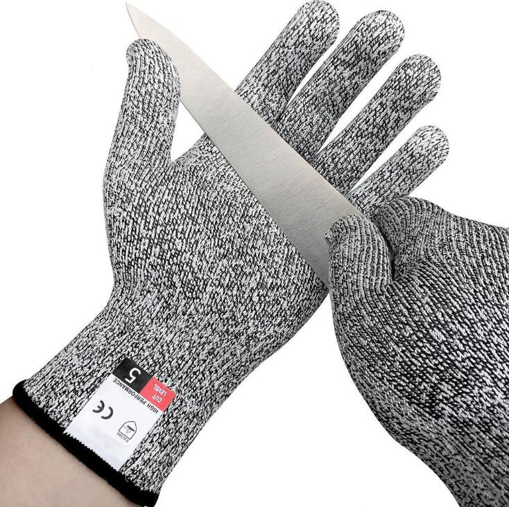 1Pair Anti-cut Gloves Safety Cut Proof Stab Resistant Stainless Steel Wire Metal Mesh Kitchen Butcher Cut-Resistant Safety