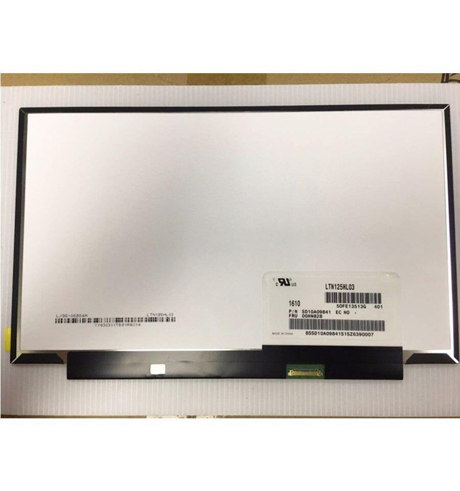 LTN125HL03-401 FRU 00HN828 peut Birghtness contrôle pour Lenovo X240 X250 X260 IPS Écran FHD 1920x1080 12.5