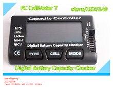 NOUVELLE Capacité De La Batterie Numérique Checker RC CellMeter 7 Pour LiPo LiFe Li-ion NiMH Nicd RC CellMeter 7