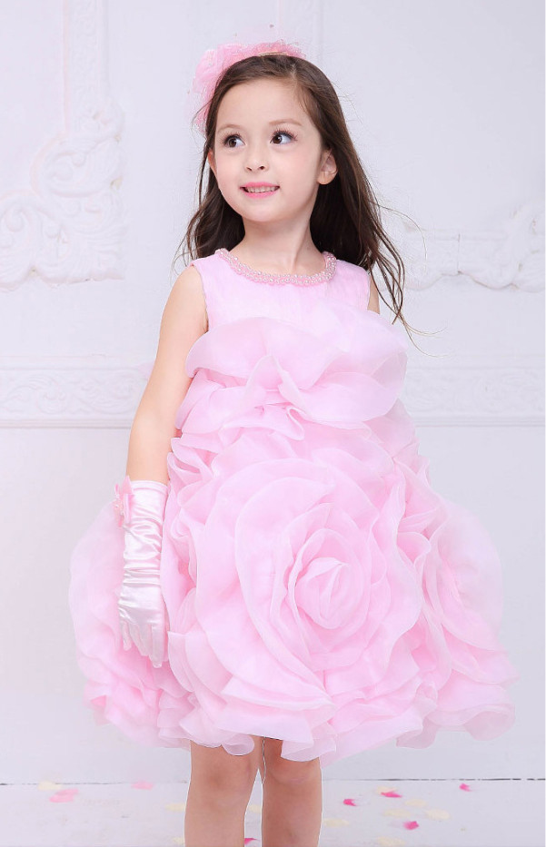 Hot Sale Cheap Kids Girl Clothes,Fashion Summer Child Princess Flower Tutu Dress,2-7 Years Old Baby Party Frocks,High Quality