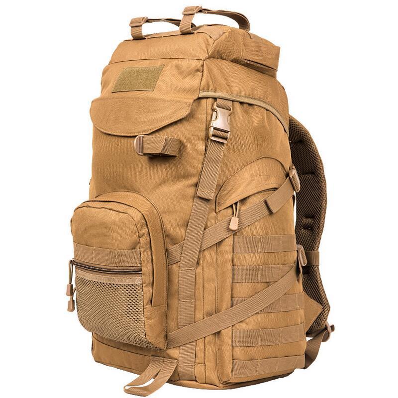 Acampar al aire libre 55L bolso del alpinismo viajes militar caza mochila hombre