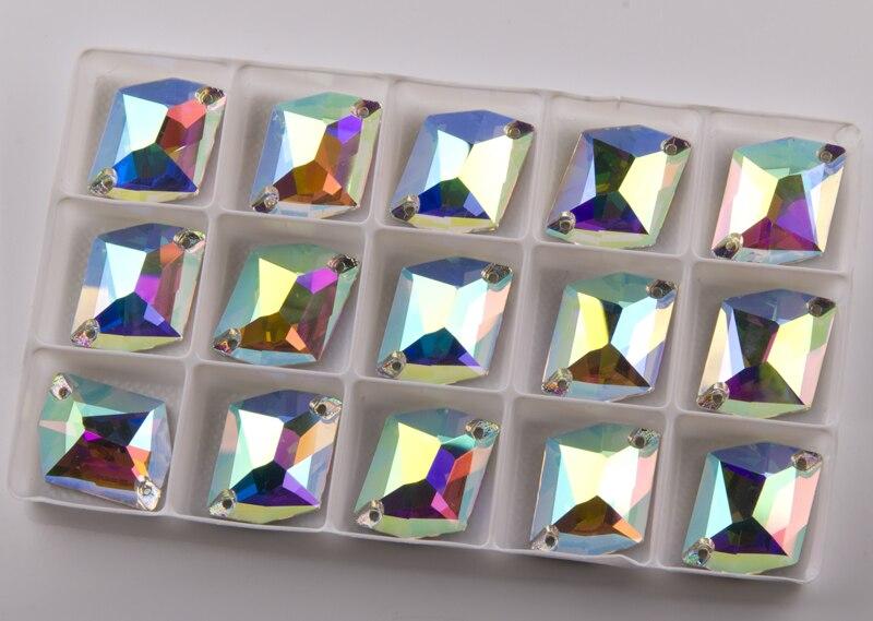 Image 4 - YANRUO 3265 todos los tamaños AB cósmico piedras para coser cristal plano costura strass para la decoración del vestido-in Diamante de imitación from Hogar y Mascotas on AliExpress