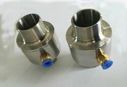 Pneumatic Conveyor Double-head Thread Pneumatic Conveyor Pneumatic Feeder Air Amplifier Filling Machine Nozzle
