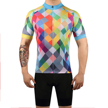 FUALRNY 2019 Summer Cycling Jersey Set Breathable Team Racing Sport Bicycle Mens Clothing Short MTB Bike