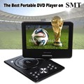 Free Shipping EVD player 9.8 Inch Screen Portable DVD PLAYER 270Degree Rotating GAME Analog TV CD MP4,USB/SD Player dvd portatil