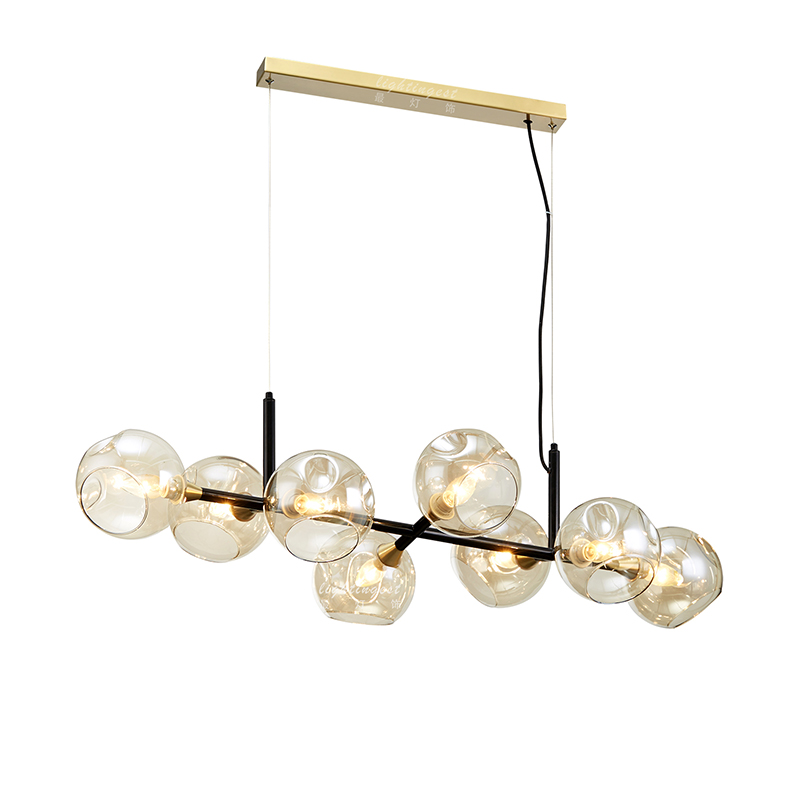 LED Modern Pendant Light Glass for Living Room Modern Hanging Lighting Fixture Home Decoration Lamps Loft Luminaire Nordic Lamp nordic modern 10 arm pendant light creative led hanging lamps tube rod toolery for living room dining room lamp home decoration