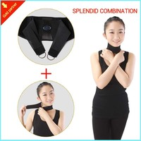 Waist Support With Magnet Function Back Protector With Strength Belt With Self Heating Tourmaline Neck Brace