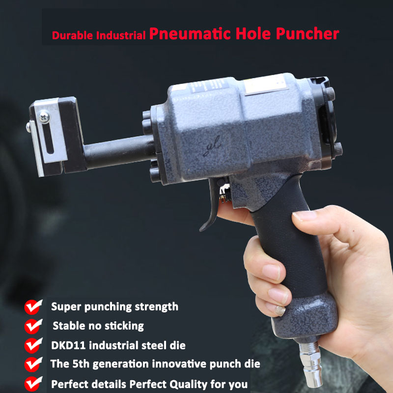 Pneumatic Hole Puncher For Metal Sign Making Stainless Channel Letter