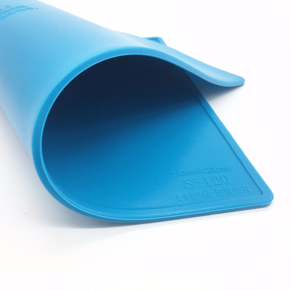 34x23cm con 20 cm scala righello isolamento termico pad in silicone - Set di attrezzi - Fotografia 5