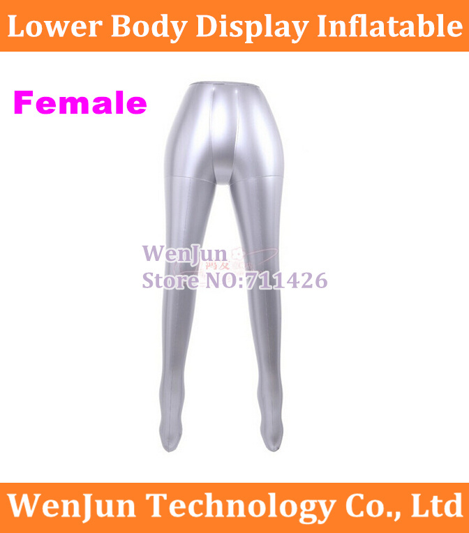 1pcs New Inflatable Female Pants Trou Underwear Mannequin Women Half Body Dummy Torso Legs Model Show To Ensure A Like-New Appearance Indefinably Computer & Office