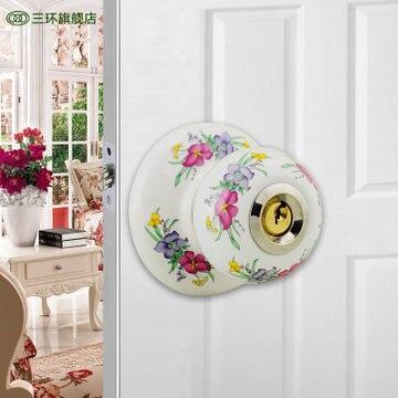 Ceramica bloccare la porta quando indoor europeo sfera serratura stretta della mano blocco di rame nucleo ssCeramica bloccare la porta quando indoor europeo sfera serratura stretta della mano blocco di rame nucleo ss