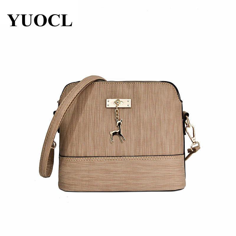 2018 сумка через плечо для женщин кожаные сумки роскошные сумки для женщин сумки дизайнерское качество олень мяч в виде ракушки сумка sac основной