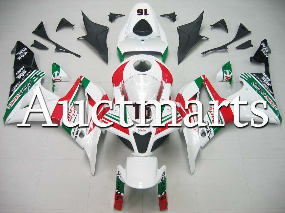 For Honda CBR 600 RR 2007 2008 Injection  ABS Plastic motorcycle Fairing Kit Bodywork CBR 600RR 07 08 CBR600RR CBR600 RR CB59 custom made motorcycle fairing kit for honda cbr600rr cbr600 cbr 600 rr 2007 2008 f5 abs fairings kits fairing kit bodywork c99