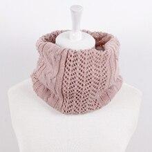 купить fashion luxury soft knitted women scarf winter warm neck ring wraps scarves women foulard femme ladies neck warmer head scarf дешево